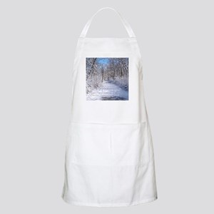 Snow Trail Scenery Apron