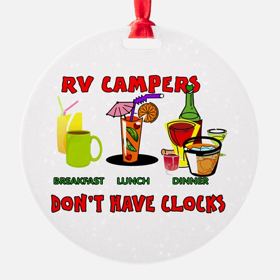 RV CAMPERS Ornament