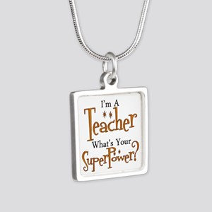 Super Teacher Necklaces