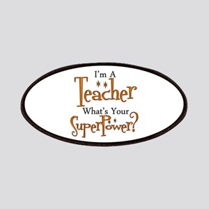 Super Teacher Patch
