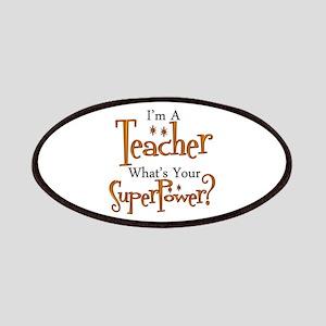 Super Teacher Patch