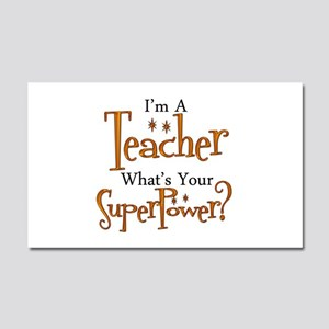 Super Teacher Car Magnet 20 x 12