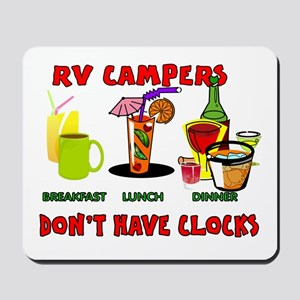 RV CAMPERS Mousepad
