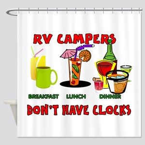 RV CAMPERS Shower Curtain