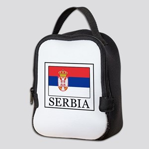 Serbia Neoprene Lunch Bag