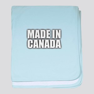 Made in Canada baby blanket