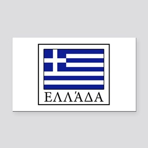 Greece Rectangle Car Magnet