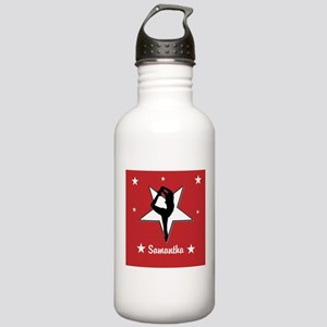 Red Cheerleader Water Bottle