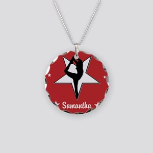 Red Cheerleader Necklace
