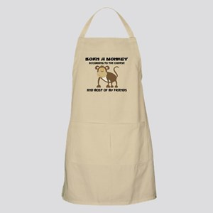 Funny Year of The Monkey Apron