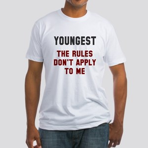 Oldest Middle Youngest Rules Fitted T-Shirt