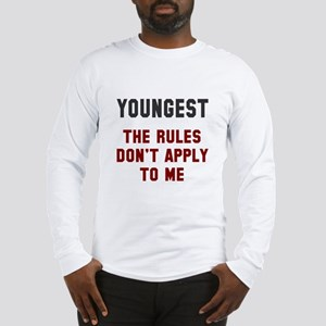 Oldest Middle Youngest Rules Long Sleeve T-Shirt