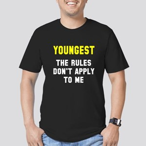 Oldest Middle Youngest Men's Fitted T-Shirt (dark)