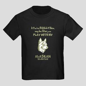 Alaskan Klee Kai Kids Dark T-Shirt