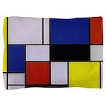 Mondrian-1 Pillow Sham