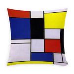 Mondrian-1 Everyday Pillow