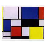 Mondrian-1 King Duvet