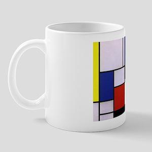 Mondrian-1 Mug