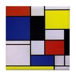 Mondrian-1 Tile Coaster