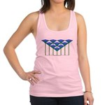 Love Flower 40 Racerback Tank Top