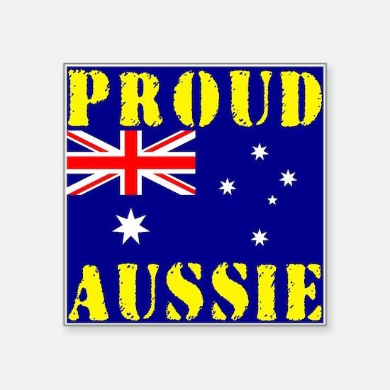 Proud Aussie Sticker