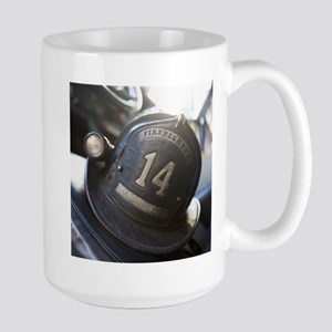 FIREMANS HELMET Large Mug