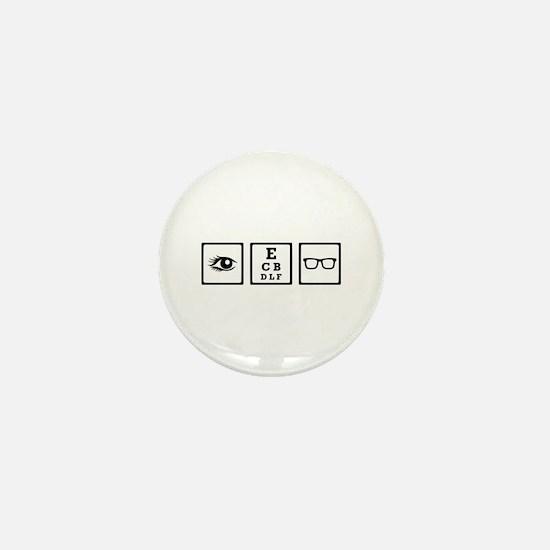 Optician Mini Button