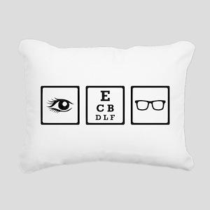 Optician Rectangular Canvas Pillow