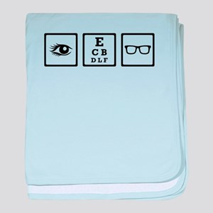 Optician baby blanket
