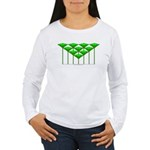 Love Flower 43 Women's Long Sleeve T-Shirt