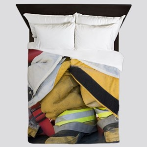 TURNOUT GEAR Queen Duvet
