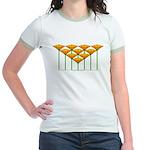 Love Flower 46 Jr. Ringer T-Shirt