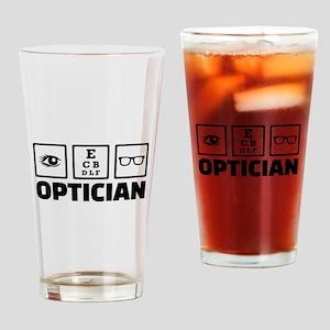Optician Drinking Glass