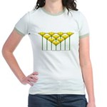 Love Flower 47 Jr. Ringer T-Shirt