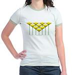 Love Flower 48 Jr. Ringer T-Shirt