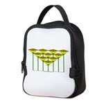 Love Flower 49 Neoprene Lunch Bag