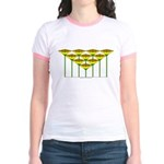 Love Flower 49 Jr. Ringer T-Shirt