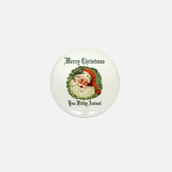 merry christmas ya filthy an Mini Button (10 pack)