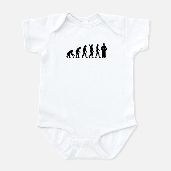 Evolution Priest Infant Bodysuit