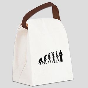 Evolution Priest Canvas Lunch Bag