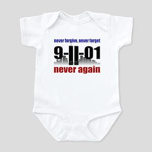 9-11-01 Memorial Infant Bodysuit
