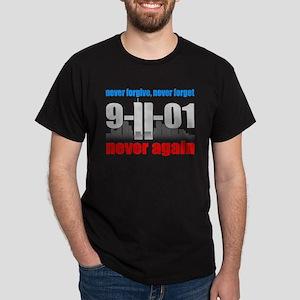 9-11-01 Memorial Dark T-Shirt