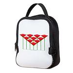 Love Flower 52 Neoprene Lunch Bag