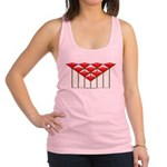 Love Flower 52 Racerback Tank Top
