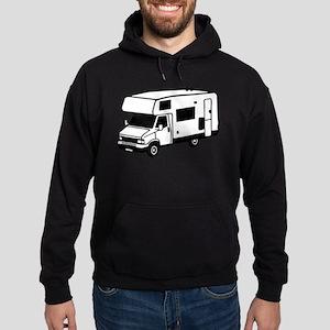 camping car motorhome Hoodie (dark)