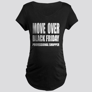 MOVE OVER Maternity Dark T-Shirt