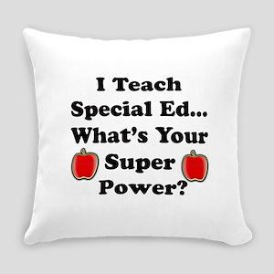 Special Ed. Teacher Everyday Pillow