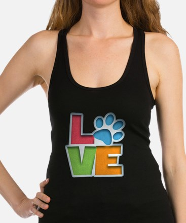 Puppy Love II Racerback Tank Top