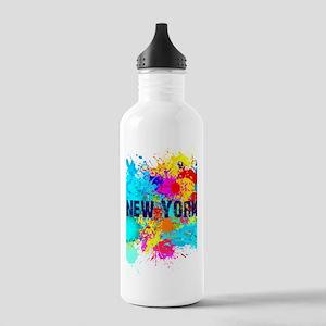 NEW YORK BURST Stainless Water Bottle 1.0L