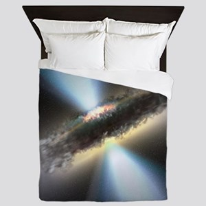 HIDDEN BLACK HOLE Queen Duvet